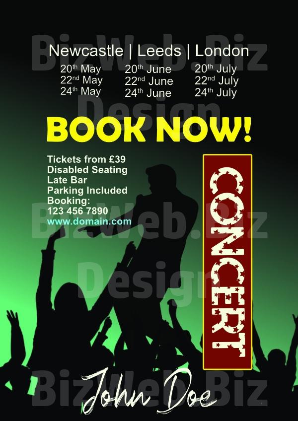 Concert Poster - A4