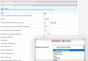 Hotel Booking Features - Payments